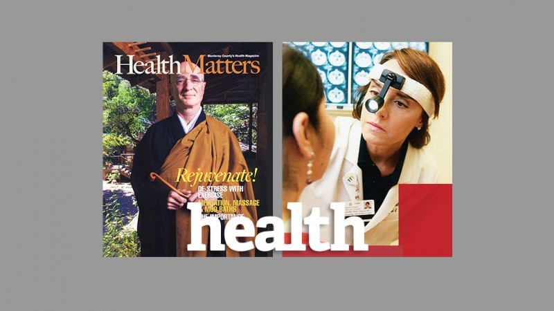 Health Magazine Design